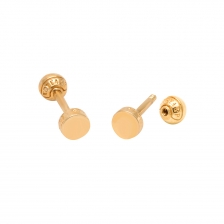 KPE 2917 Round shape Cartilage stud earring piercing