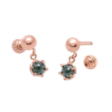 KPE 2942 Diamond Gold Earring Piercing