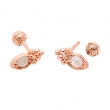 KPE 1244 Diamond Gold Earring Piercing