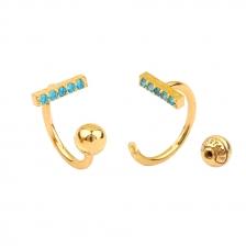KPE 4450 Hoop style  Cartilage Helix Earring Piercing