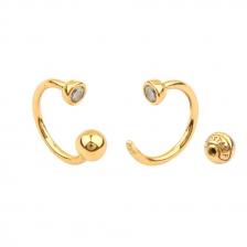 KPE 4448 Hoop style  Cartilage Helix Earring Piercing