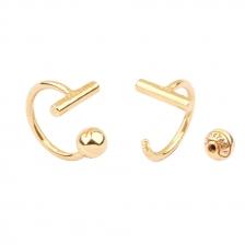 KPE 4446 Hoop style  Cartilage Helix Earring Piercing