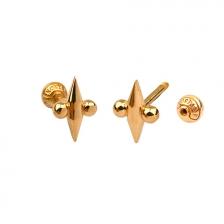 KPE 4671 14K Gold Cartilage Helix Earring Piercing