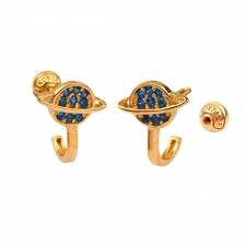 KPE 4673 14K Gold Cartilage Helix Earring Piercing