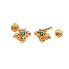 KPE 4675 14K Gold Cartilage Helix Earring Piercing