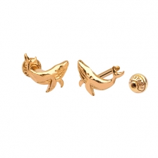 KPE4687 14K Gold Cartilage Helix Earring Piercing