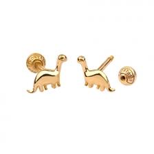 KPE4689 14K Gold Cartilage Helix Earring Piercing
