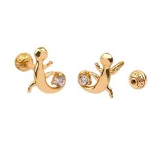 KPE 4693 14K Gold Cartilage Helix Earring Piercing