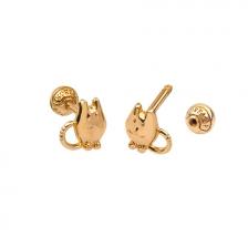 KPE 4694 14K Gold Cartilage Helix Earring Piercing