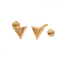KPE 4695 14K Gold Cartilage Helix Earring Piercing