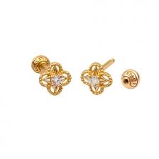 KPE4697 14K Gold Cartilage Helix Earring Piercing