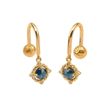 KPE 4700 Diamond Gold Earring Piercing