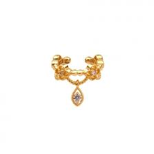 KPE 4724 14K Gold Ear cuff