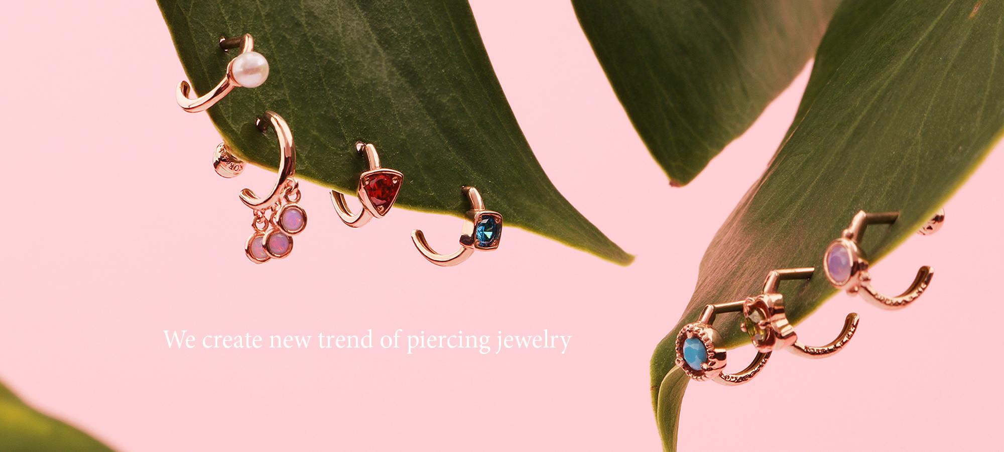 Korea Piercing Gold Body Piercing Jewelry Manufacturer